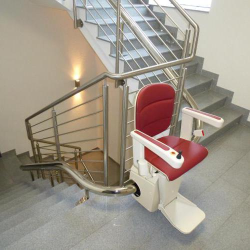 Monte escalier Allier